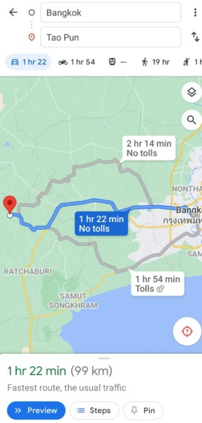 ขายที่นา โพธาราม ราชบุรี น้ำไฟพร้อม ใกล้กรุงเทพ ราคาถูกมาก