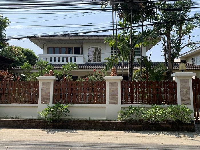 ขายบ้านเดี่ยว 2 ชั้น ใกล้รถไฟฟ้าสายสีชมพู ซ.เจ้งวัฒนะ 14 โครงการ ม.ชวนชื่น บางเขน ขนาด 99.8 ตารางวา