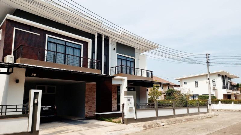 บ้านให้เช่าที่หมู่บ้านกุลพันธ์เชียงใหม่ – ถ. หางดง