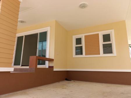 ขาย บ้านเดี่ยว สร้างใหม่ พร้อมอยู่  48 ตร.วา แหล่งชุมชน ใกล้ตลาดอัมพวา