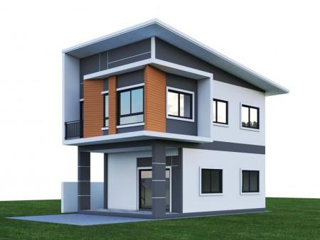 ขาย บ้านเดี่ยว เขตเทศบาลใกล้ บขส.ศรีสะเกษแห่งใหม่ บ้านเดี่ยวศรีสะเกษ 90 ตรม. 40 ตร.วา พร้อมของแถมมูลค่า 160000