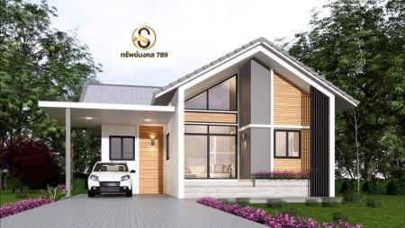 ขาย บ้านเดี่ยว พื้นที่กว้างขวาง 80 ตรม. 1 งาน 11 ตร.วา พร้อมของแถมมูลค่า 150000
