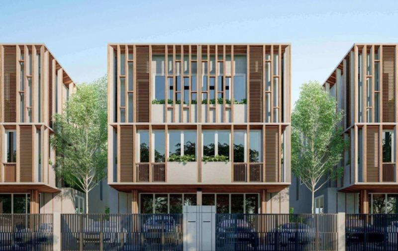 โครงการบ้านแฝด สร้างใหม่ ทำเลดี ใกล้ Mrtห้วยขวาง-สุทธิสาร by SDPproperty