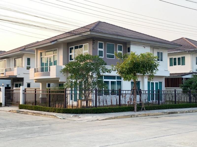 บ้านเดี่ยว 2 ชั้น โครงการ ศุภาลัย การ์เด้นวิลล์ รังสิตคลอง 2 ใกล้ดรีมเวิลด์ 67.5 ตร.วา 4 ห้องนอน 3 ห้องน้ำ แปลงมุม
