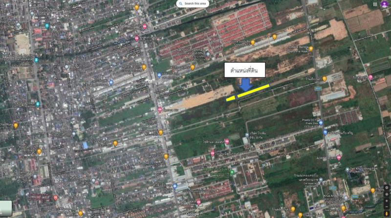 ขายที่ดิน ด้านหลังโครงการเซ็นทารา อำเภอเมือง นครศรีธรรมราช ตำบล ปากนคร อยู่ระหว่าง ถนนเทิดพระเกียรติ และ ถนนคูขวาง