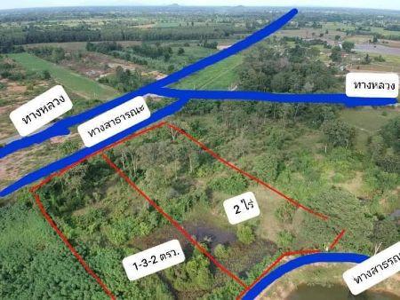 ให้เช่า ที่ดิน ขายที่ดิน2แปลงติดกันที่สวยมากก ขายที่ดินเปล่า 2 ไร่ พร้อมโอน วันเดียวเสร็จ