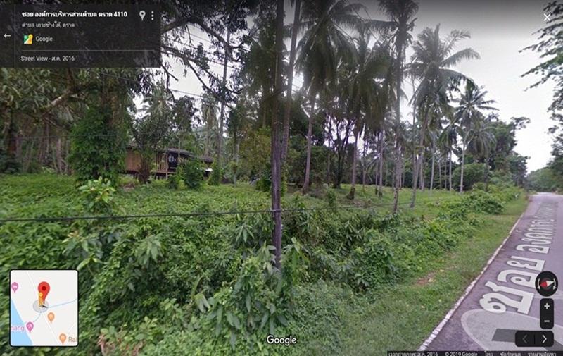 ขายที่ดิน ติดถนนทางหลวงชนบท อำเภอ เกาะช้าง ตราด 17 ไร่ 84 ตรว.