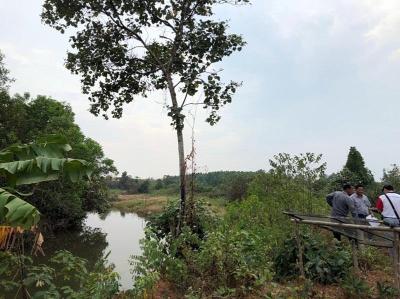ขายที่ดินริมน้ำ แม่น้ำเวฬุ ใกล้ถนนใหญ่ เขาสมิง ตราด 1000 ไร่