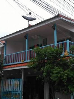 ขาย ทาวน์โฮม บ้านหลังริม ขายบ้านภูมิใจนิเวศน์ 3 ถนนสุขสวัสดิ์ 100 ตรม. 21 ตร.วา ถนนเมนโครงการ
