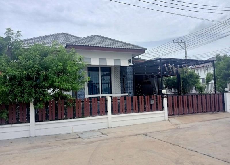 (เจ้าของขาย) บ้านเดี่ยวชั้นเดียว หมู่บ้านธาดาโฮม ร้อยเอ็ด ใกล้ตัวเมืองร้อยเอ็ด 61 ตร.วา 3 ห้องนอน 2 ห้องน้ำ 1 ห้องครัว