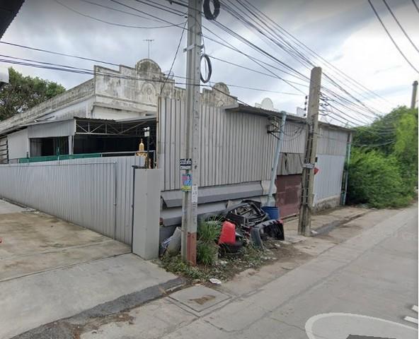 ขายที่ดินพร้อมโกดังโรงงาน เนื้อที่ 179 ตรว ถนนสุขสวัสดิ์ พื้นที่สีม่วง อยู่ในเขตอุตสาหกรรม