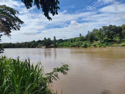 ขายที่ดินติดแม่น้ำ แควใหญ่ กาญจนบุรี 4 ไร่ ใกล้ตัวเมือง เหมาะสร้างบ้าน ทำการเกษตร  หรือซื้อเก็บไว้